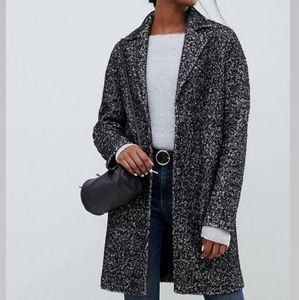 NWT ASOS Cocoon Coat in texture / Manteau Laine